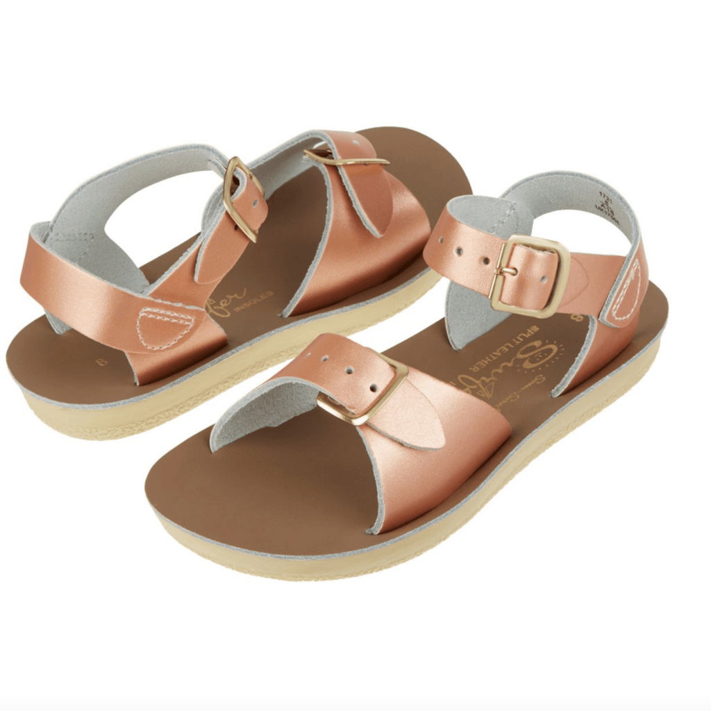 Surfer Salt-Water Sandal Rose Gold