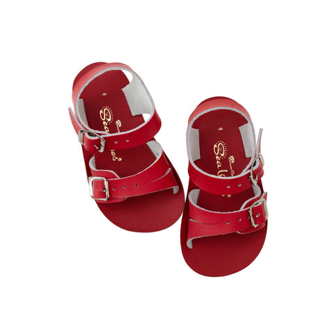 Seewee Salt-Water Sandals Red