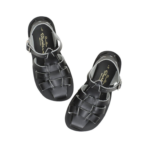 Shark Salt-Water Sandals Navy