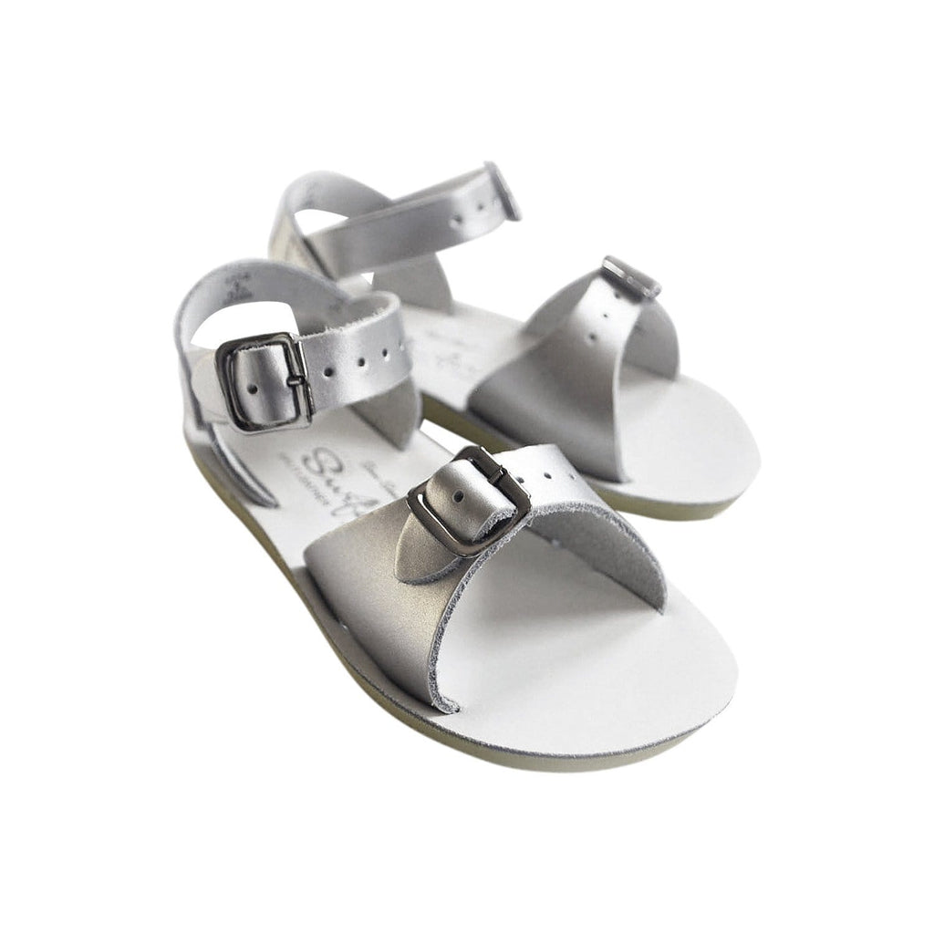 Surfer Salt-Water Sandals Silver