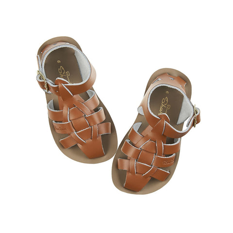 Shark Salt-Water Sandals Tan