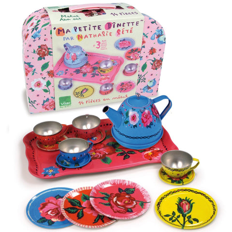 Nathalie Lété Tin Tea Set