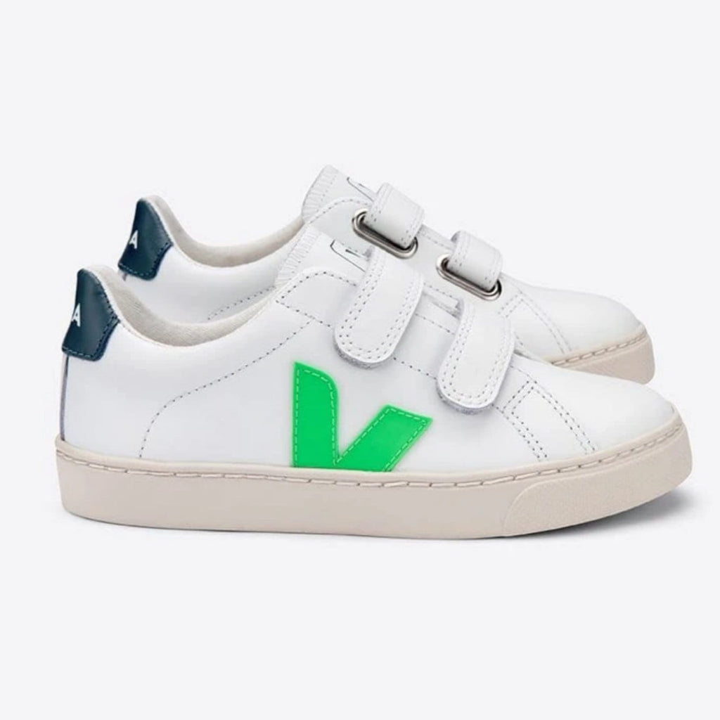 Esplar Velcro Leather Extra White Absinthe California
