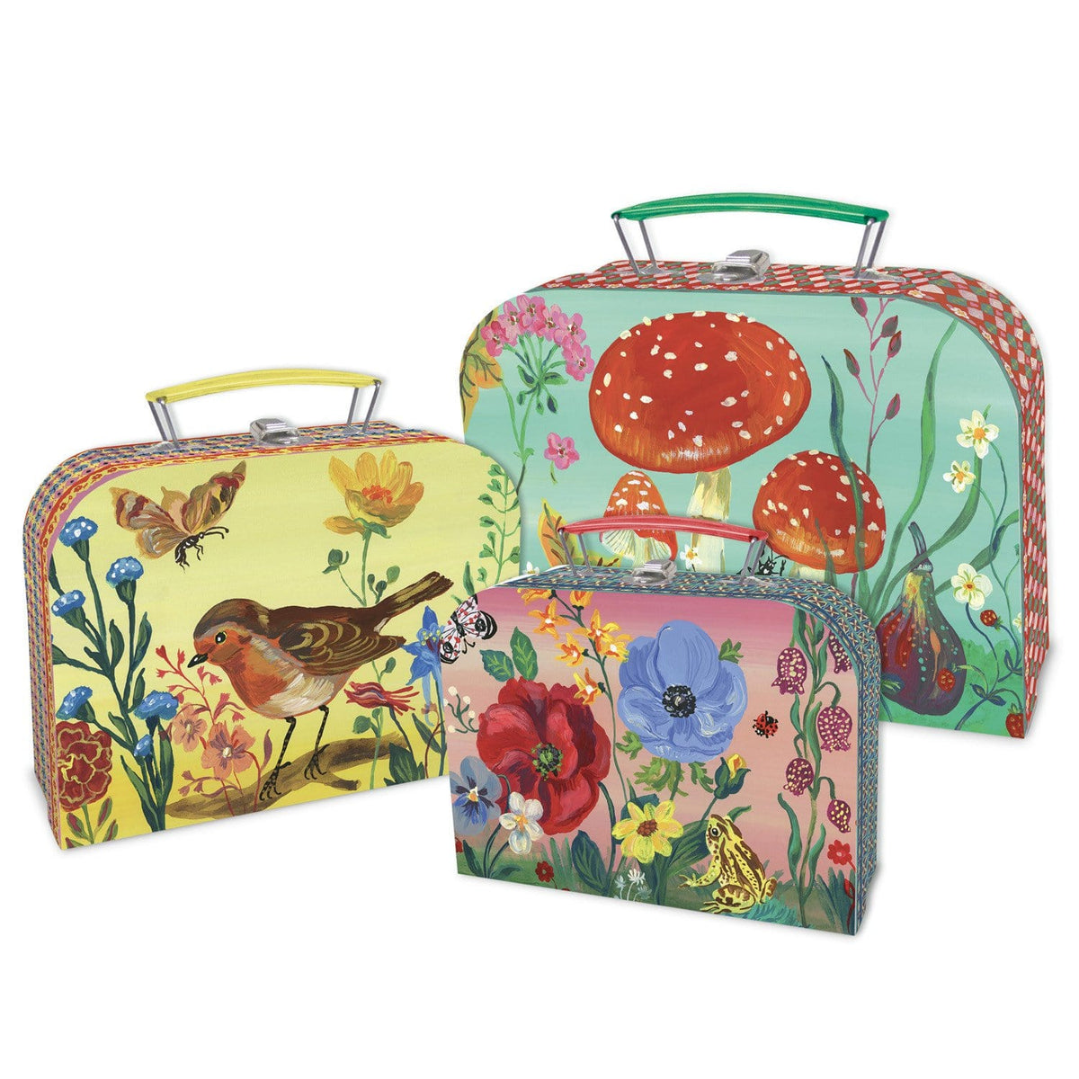 Nathalie Lete Suitcase Set of 3