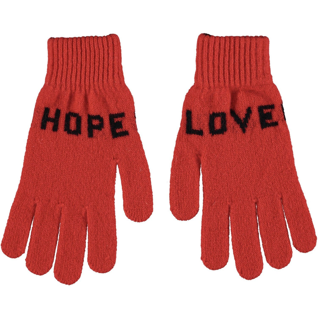 Love Hope Gloves Red