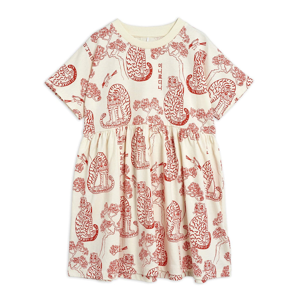 All Over Small Saturn Buttons Dress