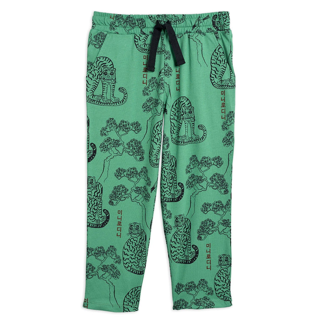 Tigers AOP Trousers Green