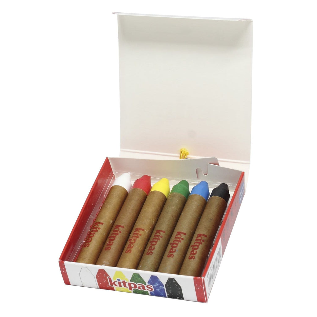 Kitpas Art Crayon 6 Pack