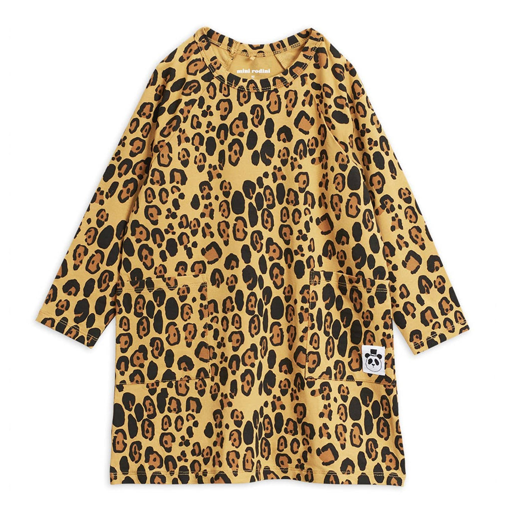 Basic Leopard LS Dress