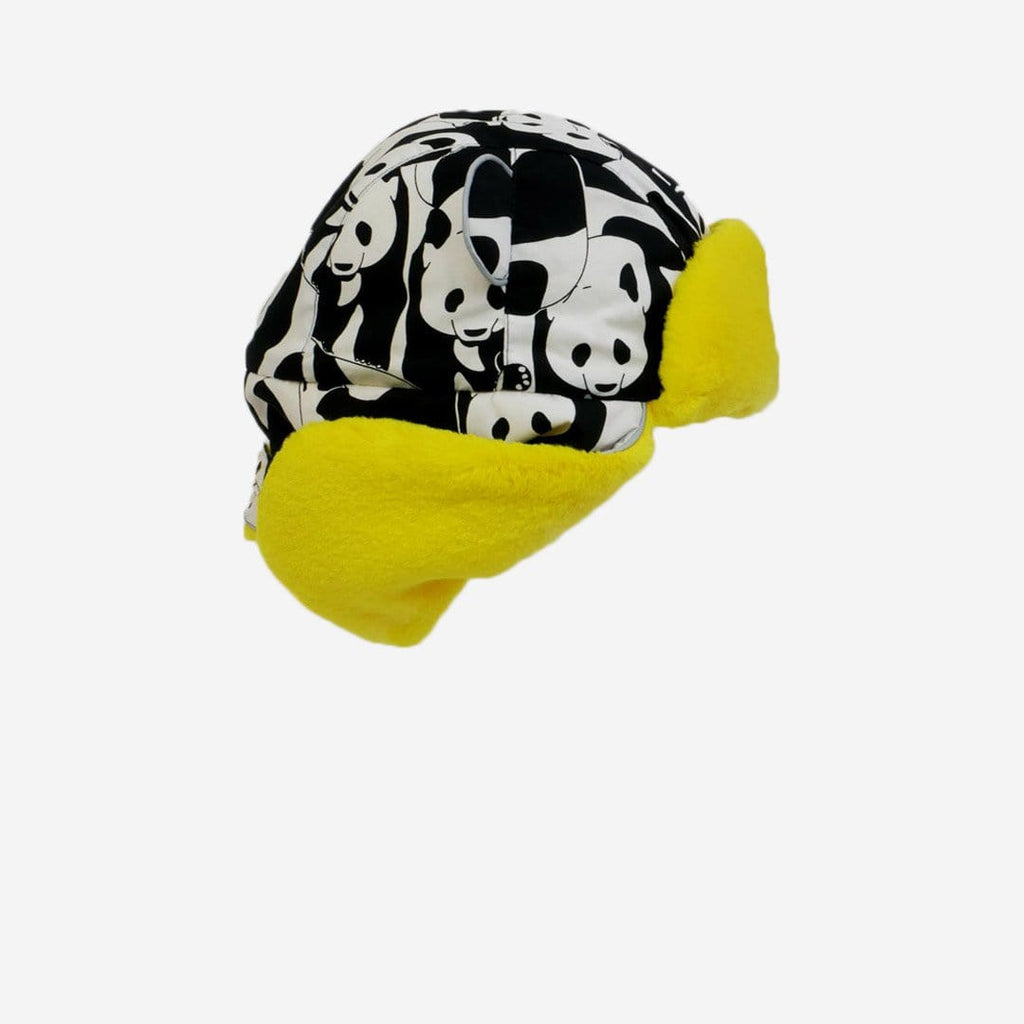 Panda Pop Yellow Trapper Hat