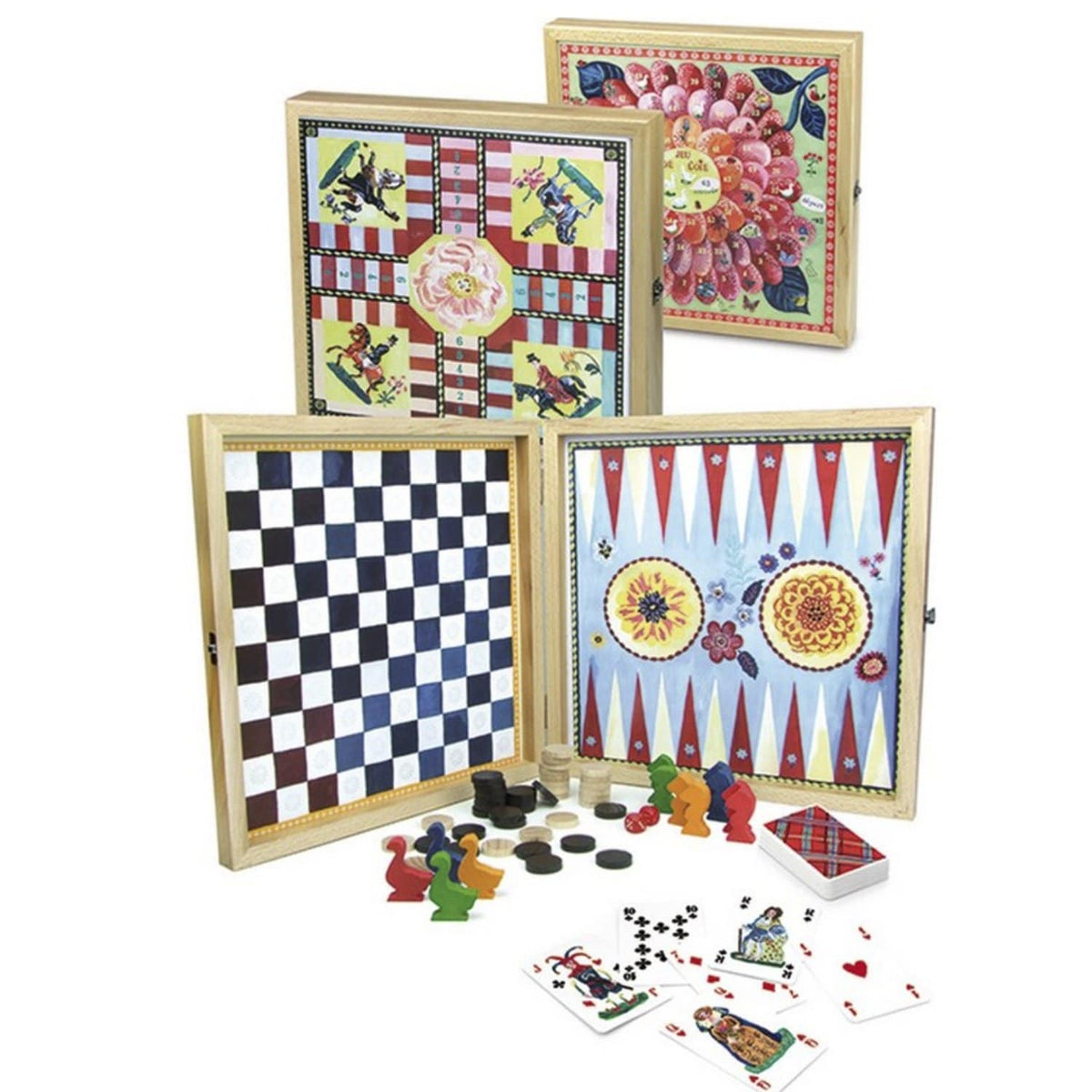 Nathalie Lete Set of 4 Classic Games
