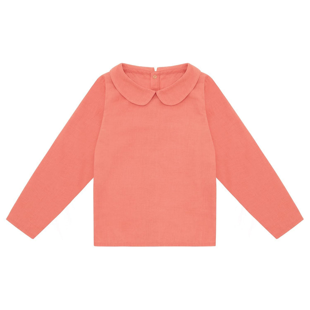 LS Collared Shirt Coral