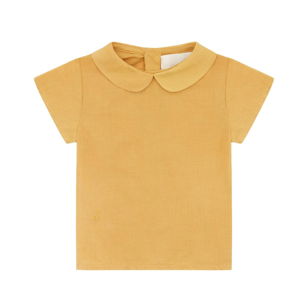 SS Collared Shirt Yellow