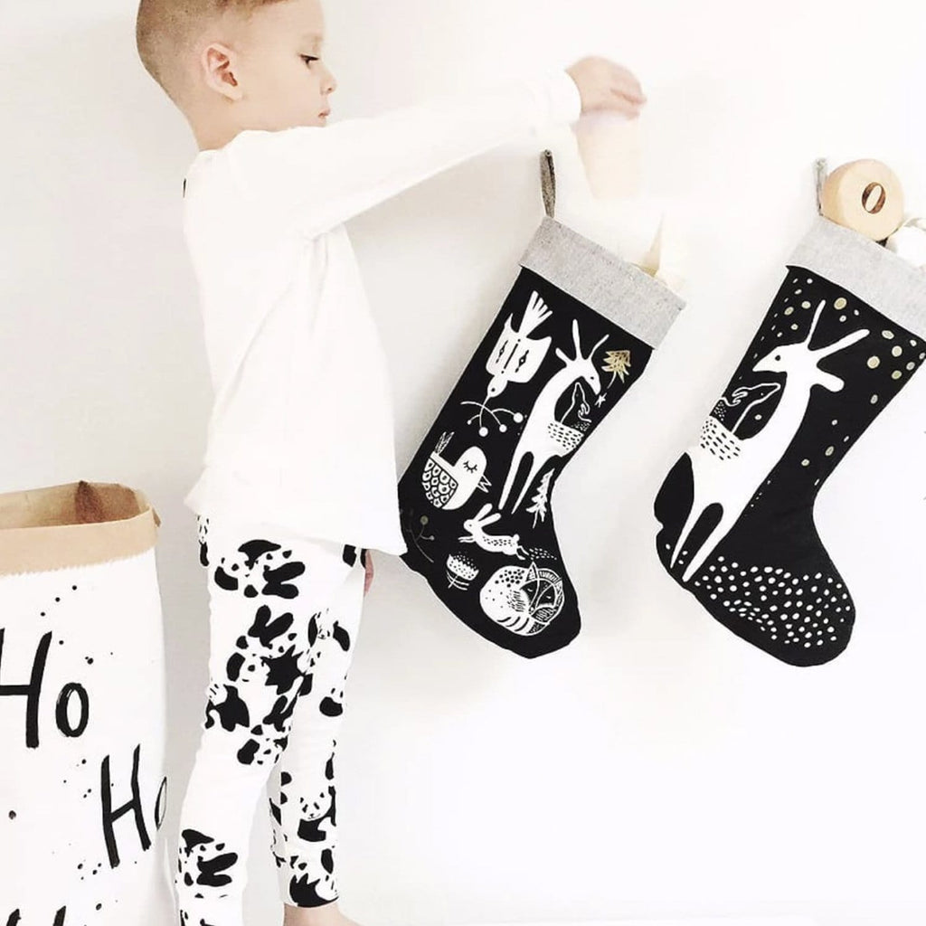 Black Deer Stocking
