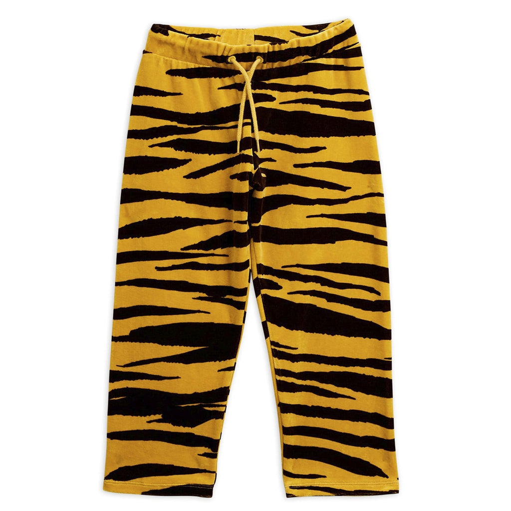 Tiger Velour Trousers Brown