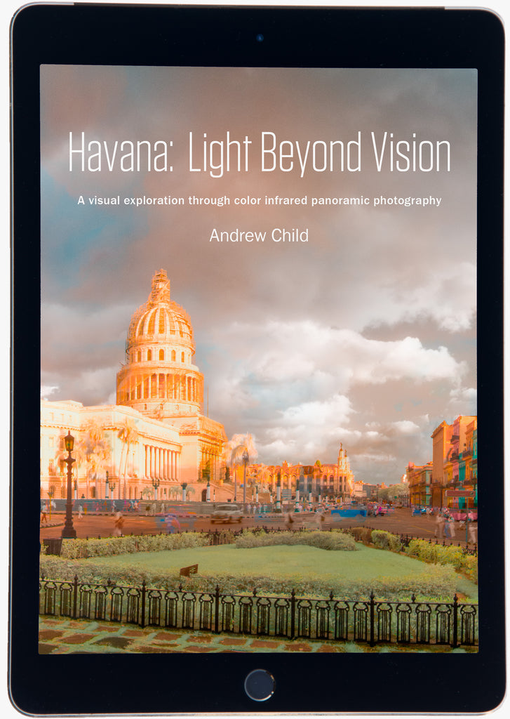 Screen shot of the e-book Havana: Light Beyond Vision