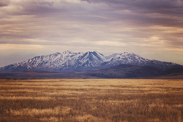 Western Mountain Landscape Photograph, Color Mountain Art, Physical Print
