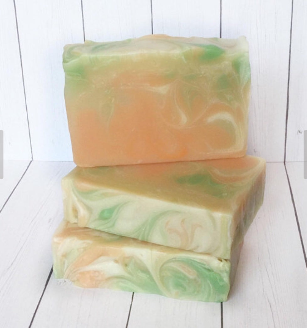 Basil and Nectarine Women's Soap