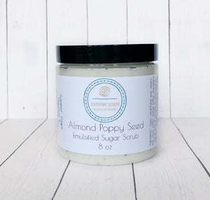 Almond Poppyseed Sugar Body Scrub