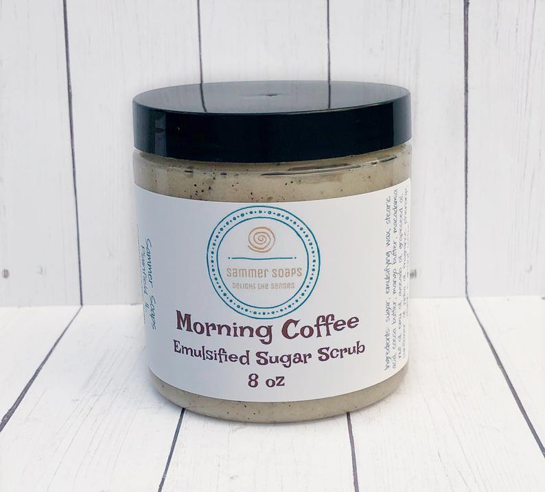 Coffee Emulsified Sugar Scrub