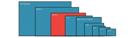 Canon Digital Camera Sensor Sizes