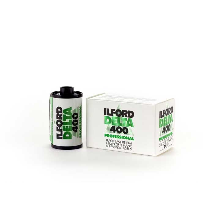 Delta 400 professional 35mm Black & White Film