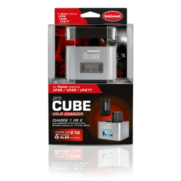 Hahnel Pro Cube Twin DSLR Charger