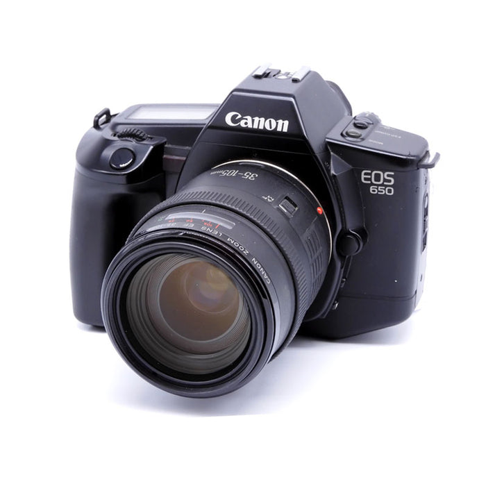 Canon EOS 650 SLR Film Camera with EF 35-105mm Lens