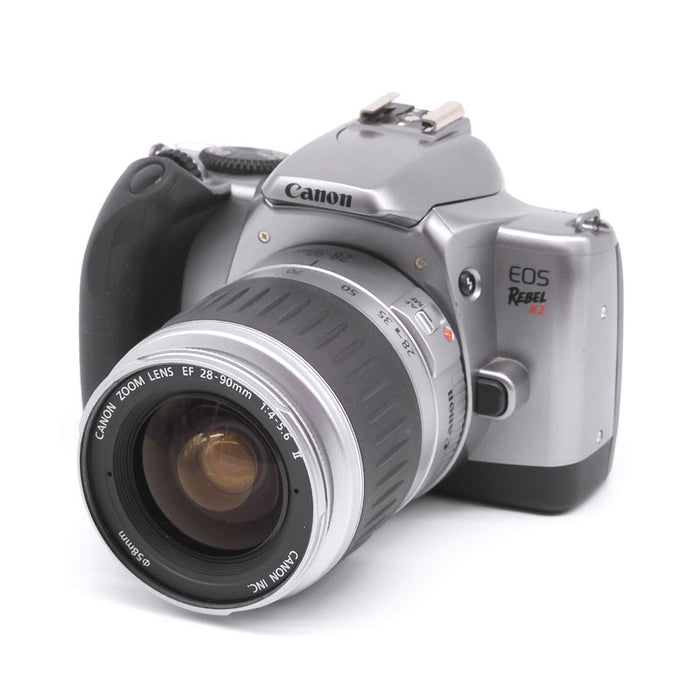 Canon EOS Rebel K2 SLR Film Camera with 28-90mm Lens