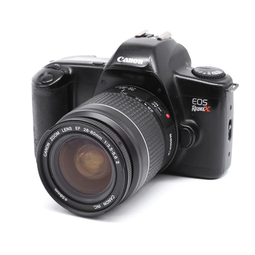 Canon EOS Rebel X SLR Film Camera with EF 28-80mm Lens