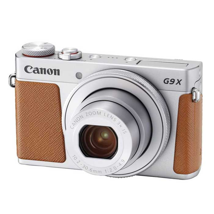 Canon Powershot G9X Mark II Digital Compact Camera Silver
