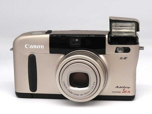 Canon Autoboy S11 XL date panorama with fitted case