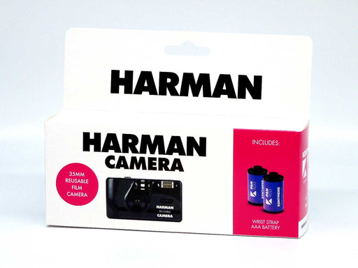 Harman (Ilford) reusable film camera with 2 rolls of B/W film