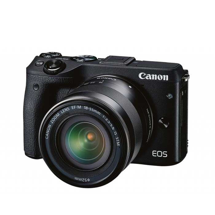 Canon EOS M3 Mirrorless Camera + 18-55mm Lens