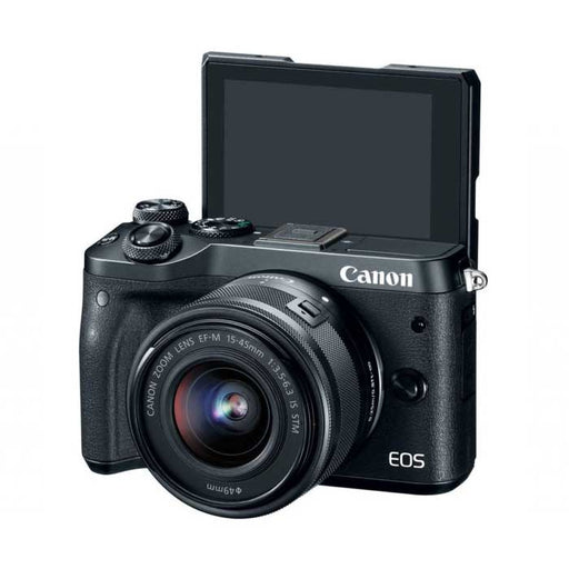 Canon EOS M6 Mirrorless Camera +15-45mm Lens