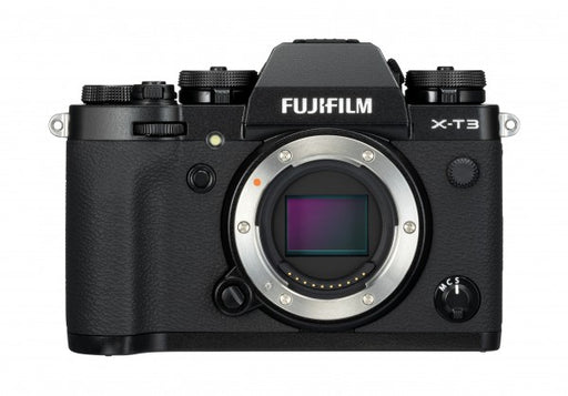 FUJIFILM X-T3 Mirrorless Camera with grip and spare battery