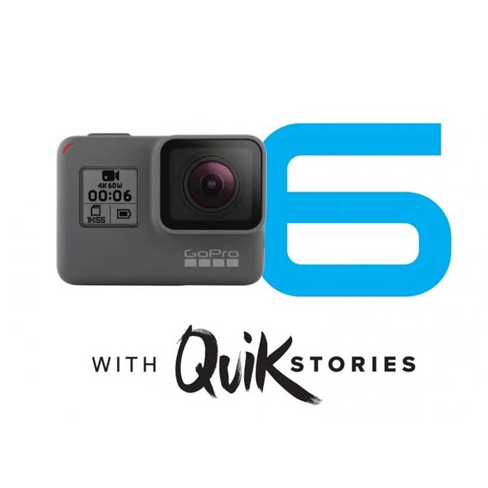 GoPro Hero 6 with QuikStories