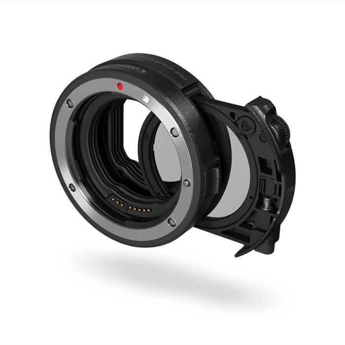 Canon RF - EOS > EOS-R Mount Adapter with drop-in CP Filter