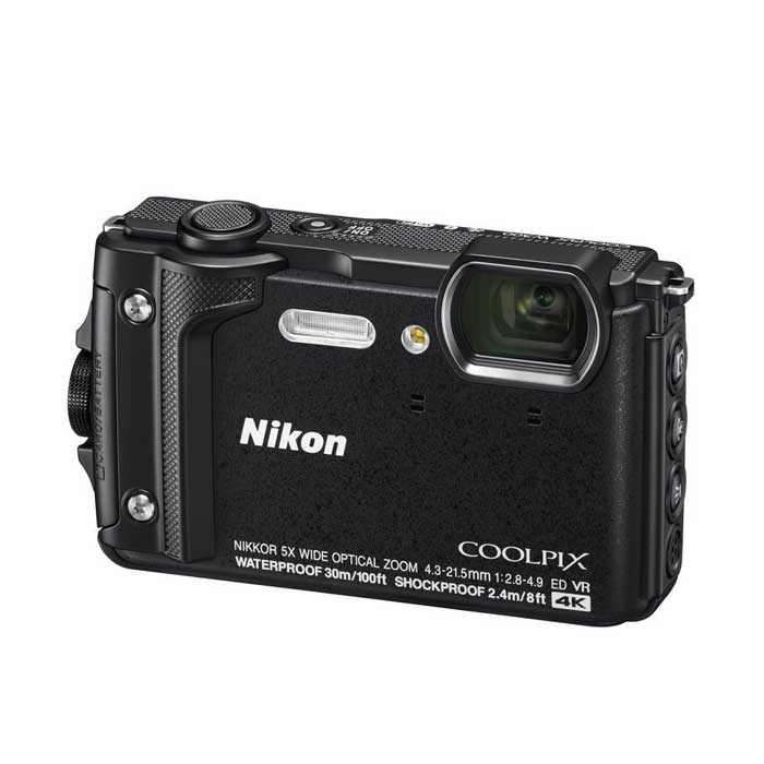 Nikon COOLPIX W300 Digital Compact Camera w/Silicon Jacket