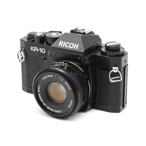 RICOH KR-10 SLR Film Camera with 50mm Lens