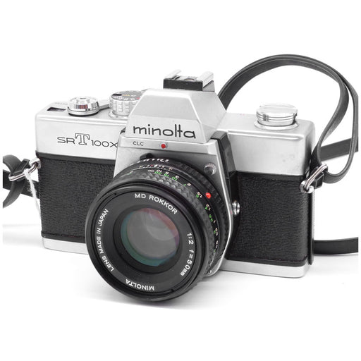 Minolta SRT100X (CLC) SLR Film Camera with 50mm f2 Lens