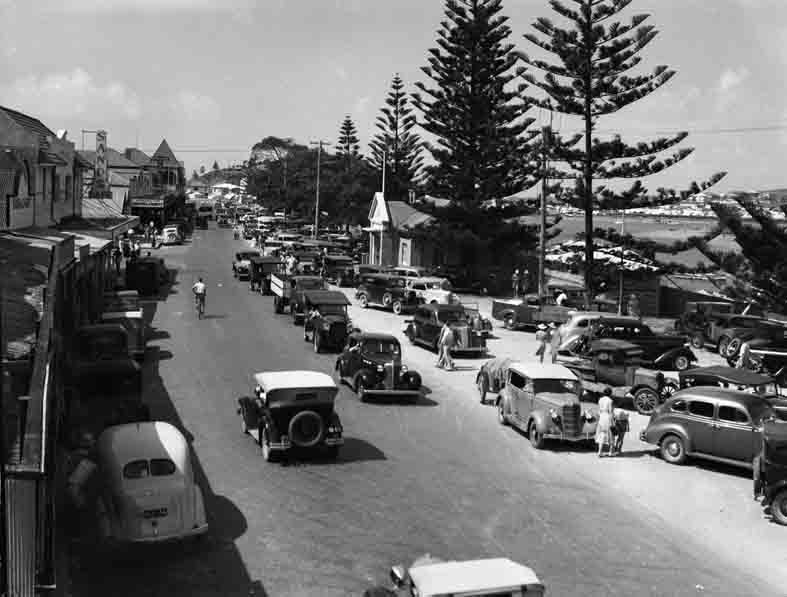 The Esplanade, Tweed Heads 1940's