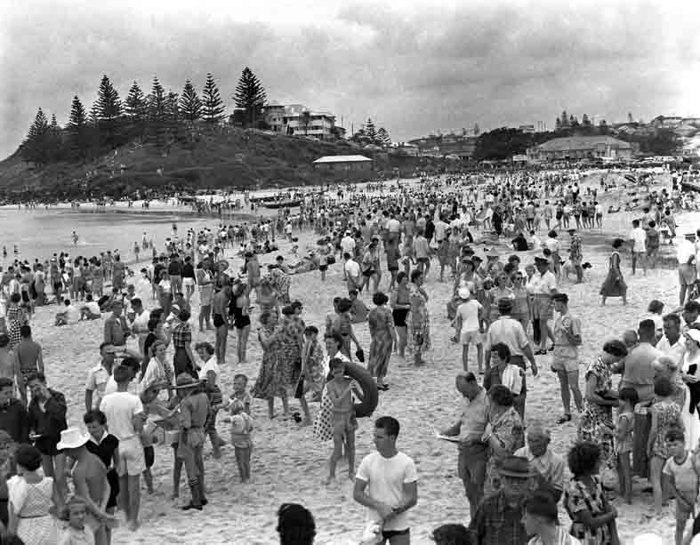 Greenmount Beach SLS event 1960's