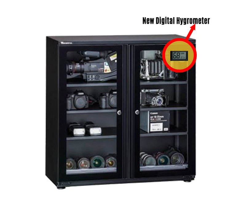Wonderful WD-200CH Digital Hygrometer Dry Cabinet 214L