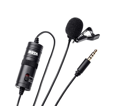 Boya BY-M1 Lapel Microphone
