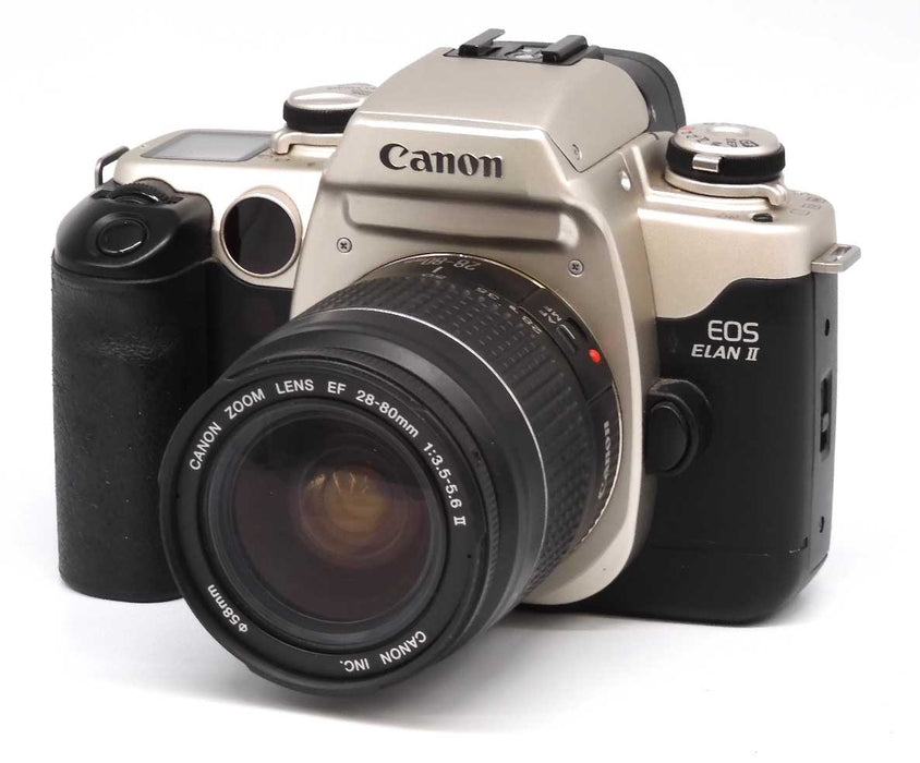 Canon EOS Elan 2SLR Film Camera with EF 28-80mm Lens