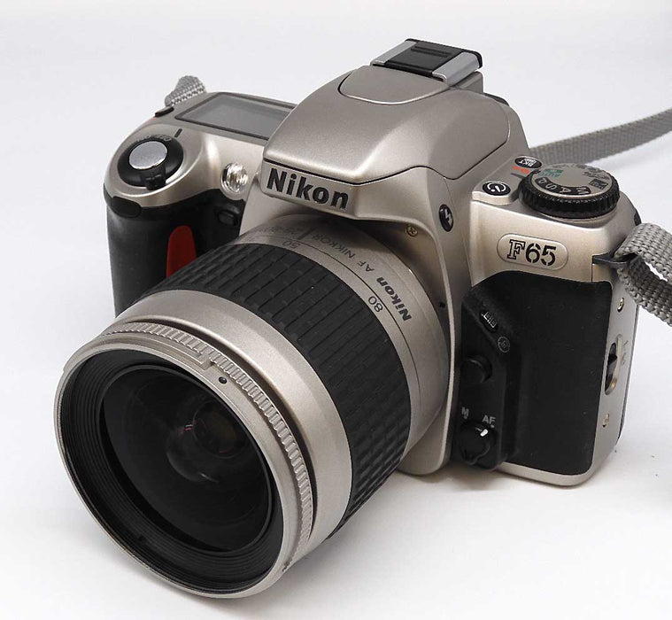 Nikon F65 film camera with 28-80mm lens