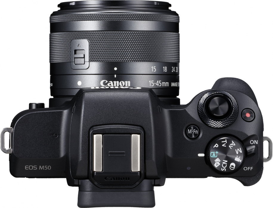 Canon EOS M50 Mirrorless Camera +15-45mm Lens