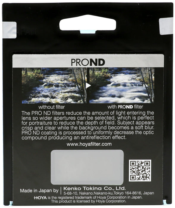 Hoya PROND 4,16,64 filter set