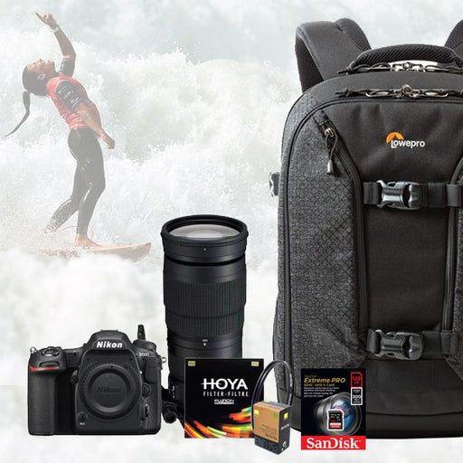 Nikon D500 DSLR Surf Photography Kit